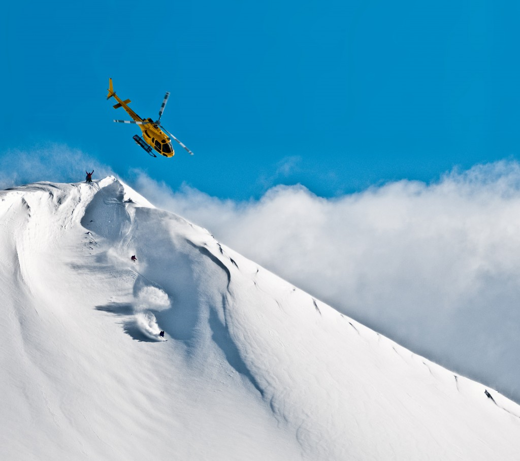High Mountain Heli Skiing