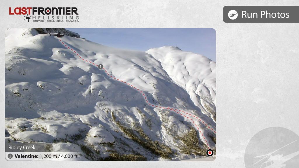 Last Frontier Heliskiing - Run Maps