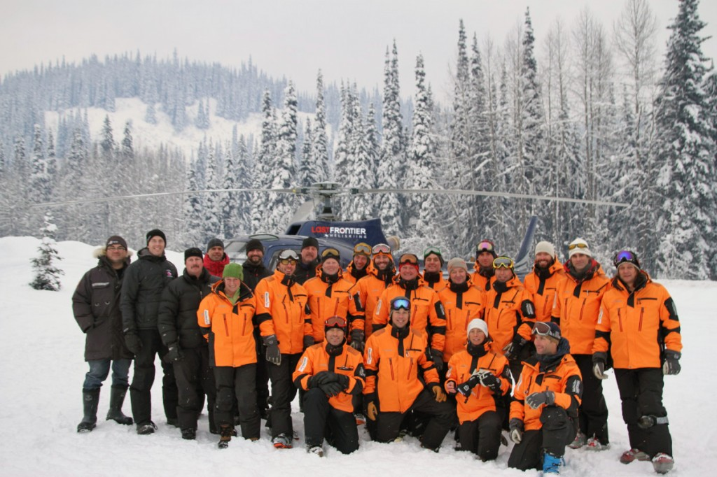Last Frontier Heli Skiing Safety