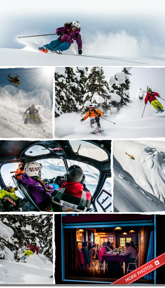 Heli Skiing Photo Gallery