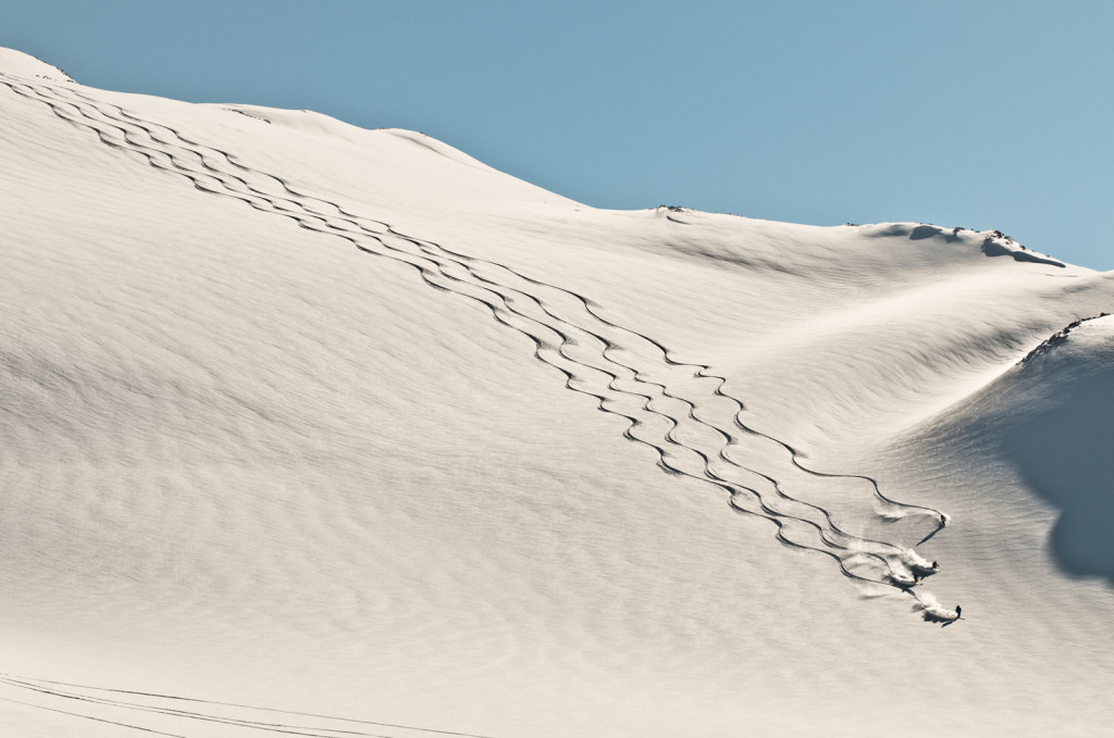 This is what I want heliskiing to be... Photo - Dave Silver