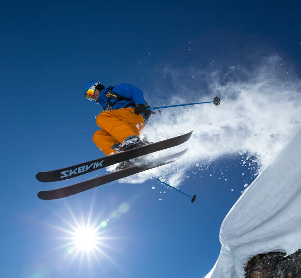 The best way to product test - airtime. Photo - Geoff Holman