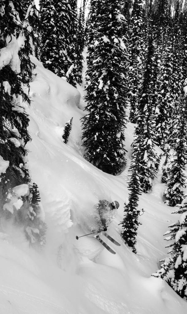 This is why the Anderson Bros. build skis... Photo - Geoff Holman