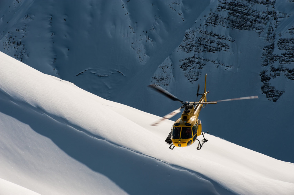 Wouldn't you rather ride in one of these to go skiing instead of to be rescued?  Photo - Dave Silver