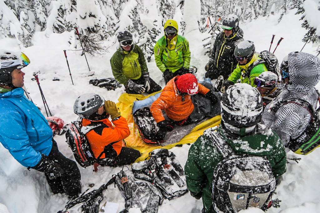 First Aid Is A Huge Part Of Guide Training At Last Frontier... Photo - Jun Yanagisawa