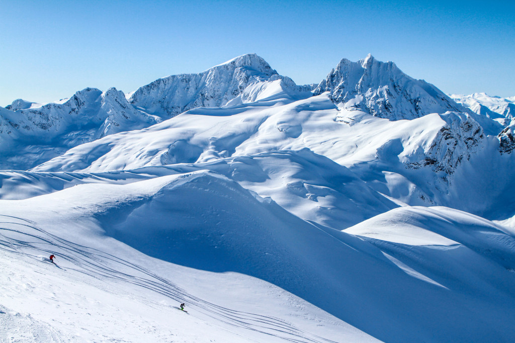 Why we play in the mountains... Photo - Caton Garvie