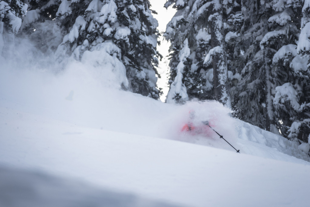 At the end of the day, this is why we all decided to ski patrol for a living.   Photo - Dave Silver