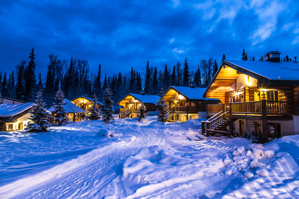 These cozy cabins are waiting for you! Photo: Steve Rosset