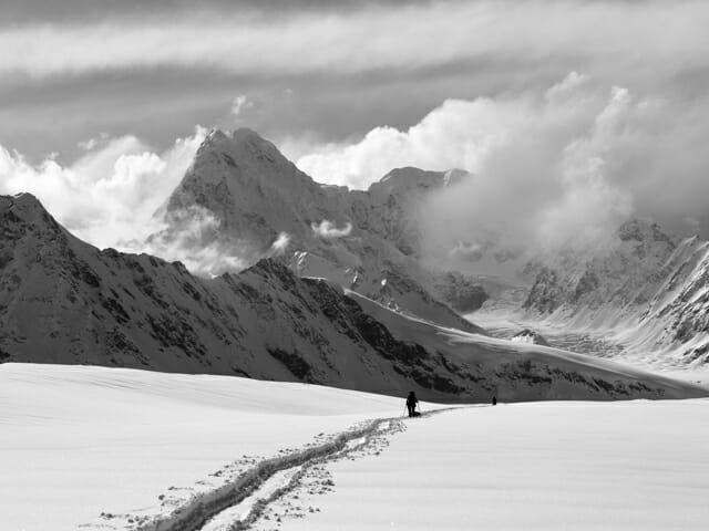 Fedchenko Glacier ski touring expedition