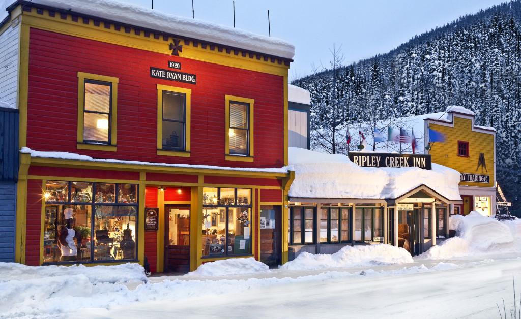 The Ripley Creek Inn. Our winter home in Stewart, BC. Photo - Randy Lincks