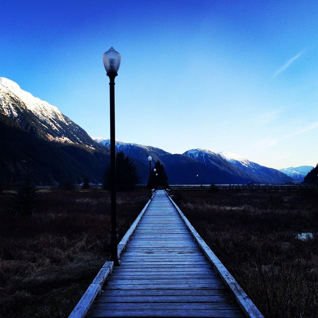 An evening stroll in Stewart BC. Photo - D'Arcy McLeish