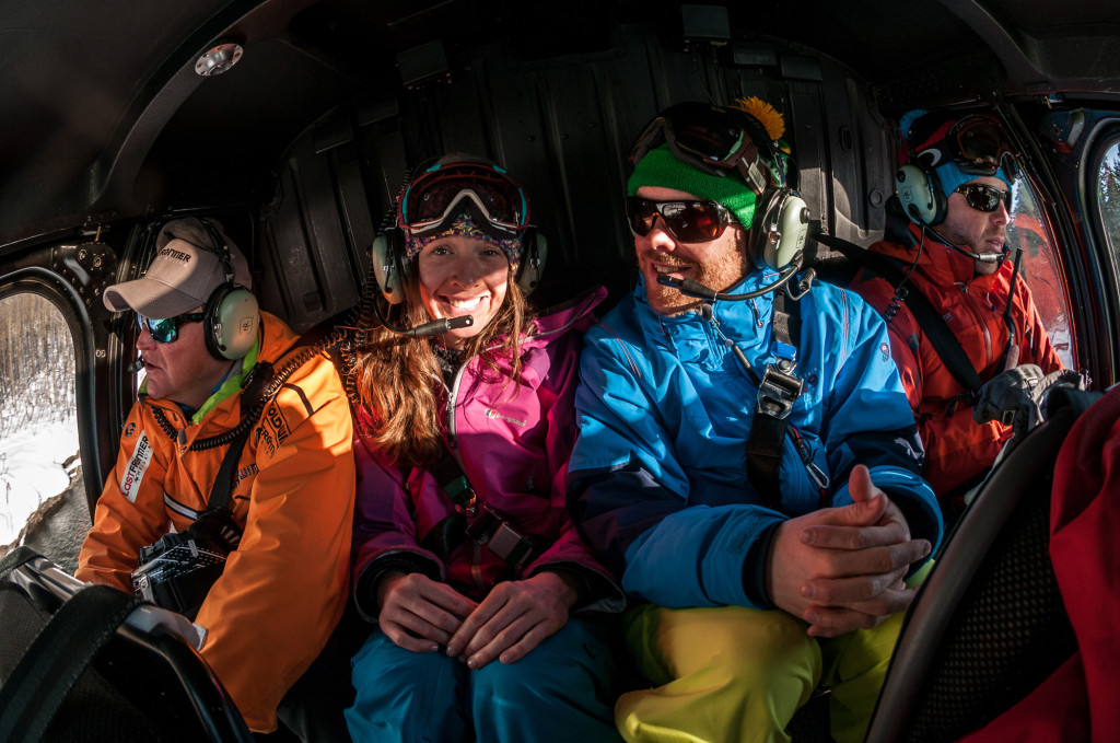 There's no bad time to hang out with your friends in a helicopter | Photo: Dave Silver