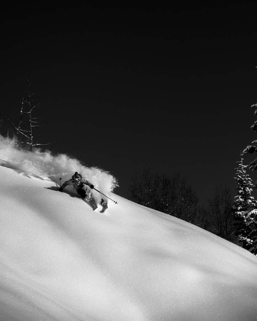 This is what skiing is all about to me.  Photo - Reuben Krabbe