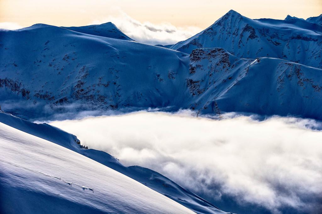 Warm feet = happy ski days.  Photo - Grant Gunderson