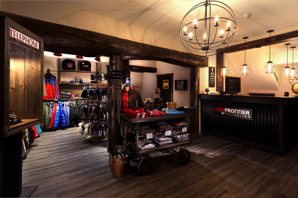Newly modernized gift shop and common area at Bell 2 | Greg Foster