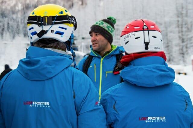 Guide training Week Last frontier Heliskiing