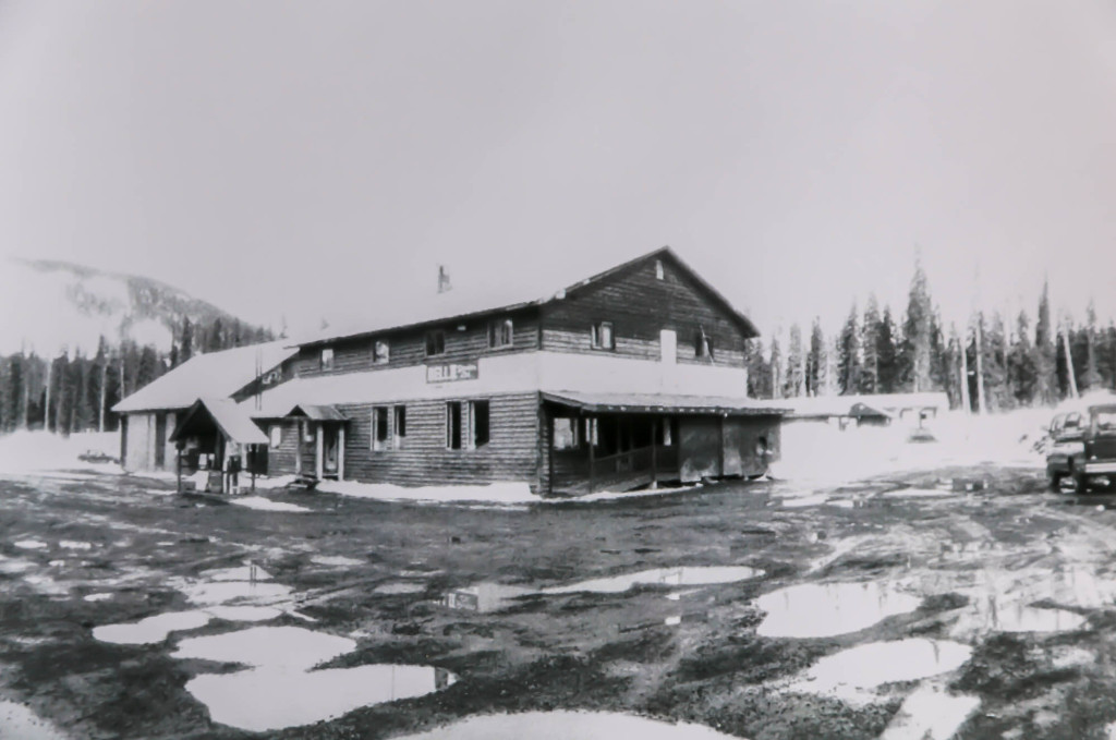 An eye on the past with a hand on the future - The original Bell 2 Lodge | Last Frontier Archives