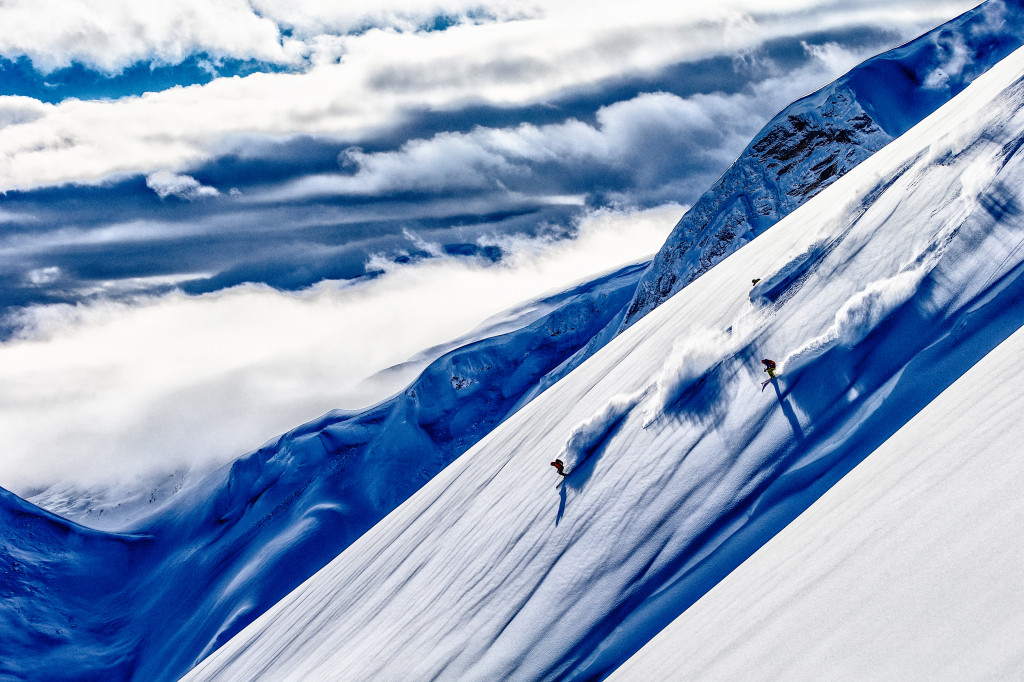 It's been an awesome start to the winter in BC so it looks like Christmas might be celebrated over deep turns.  Photo - Gran Gunderson