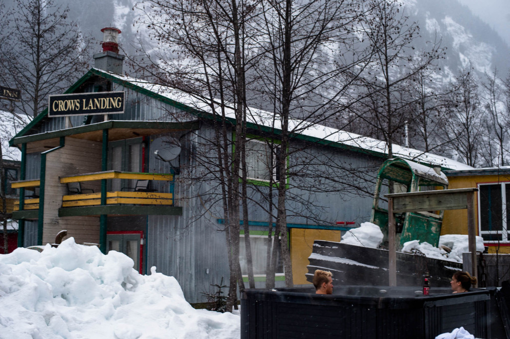 Ripley Creek: Rustic accommodation with access to fabulous skiing. | Photo: Reuben Krabbe
