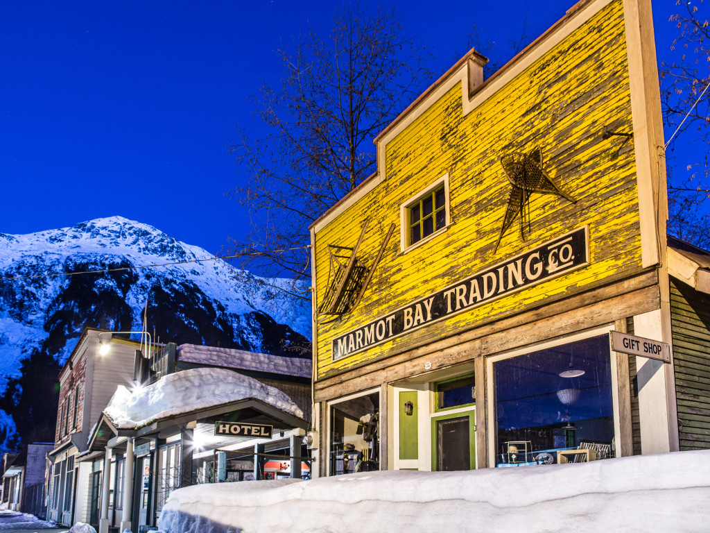The Ripley Creek Inn. Our winter home in Stewart BC. Photo - Steve Rosset