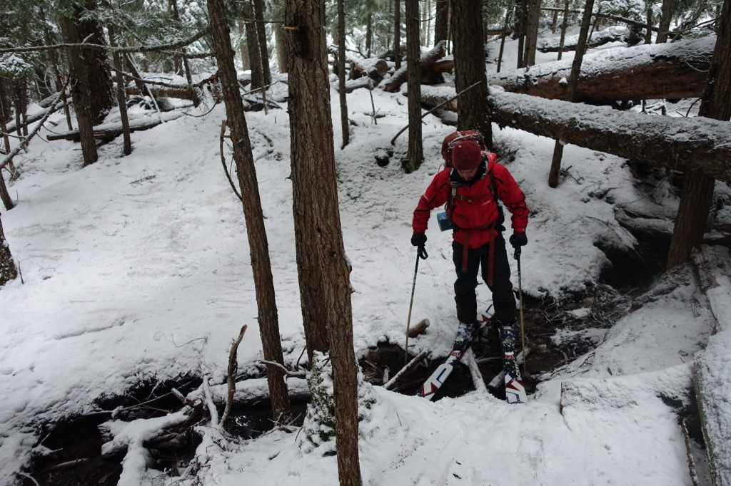 Good thing I brought the rock skis today | Liam Harrap