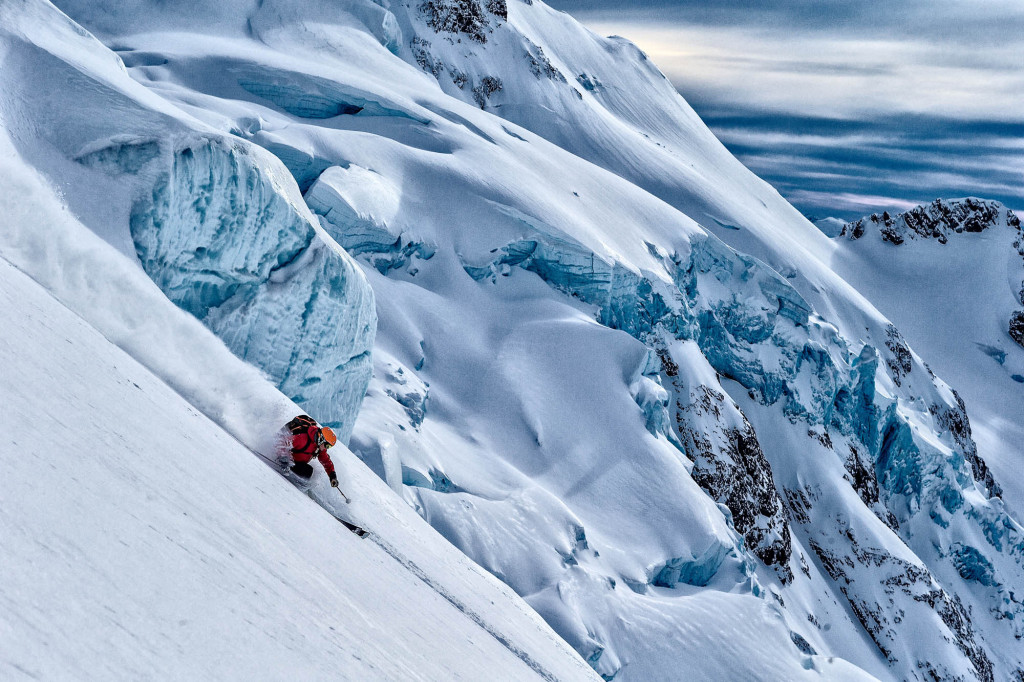 Just another day at Last Frontier Heliskiing. No big deal | Grant Gunderson