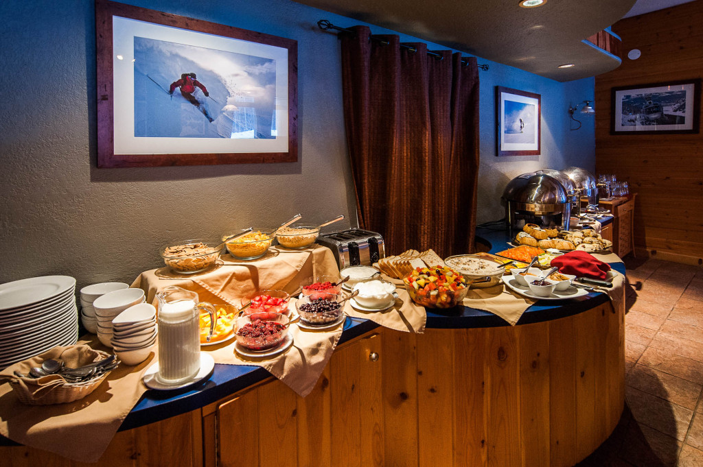 The famous breakfast buffet at Bell 2 Lodge. Photo - Dave silver