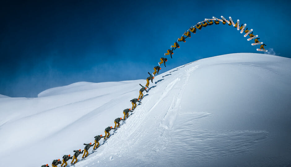 Bring the slopestyle to the backcountry. Photo - Scott Serfas