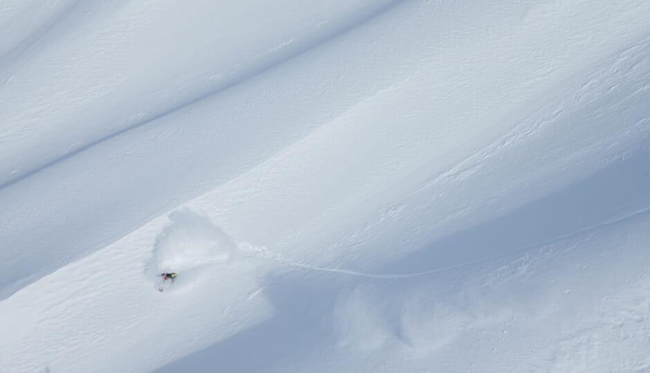 Like surfing a never ending wave...magic. Photo - Scott Serfas
