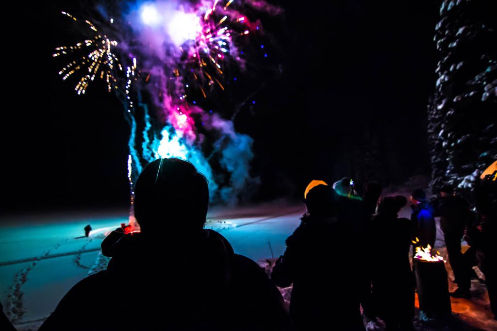 Fireworks at New Years | Photo - Caton Garvie