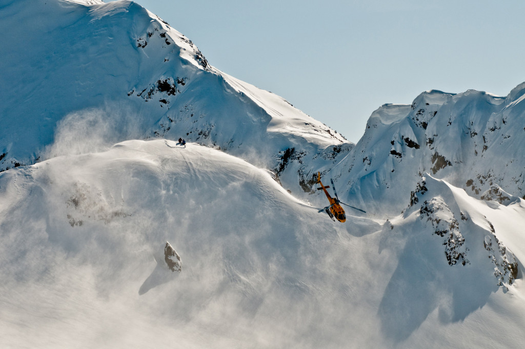 If you really want to get out there into the vast wilderness of the mountains, come heliskiing with us. We handle the most of the risk.  Photo - Dave Silver