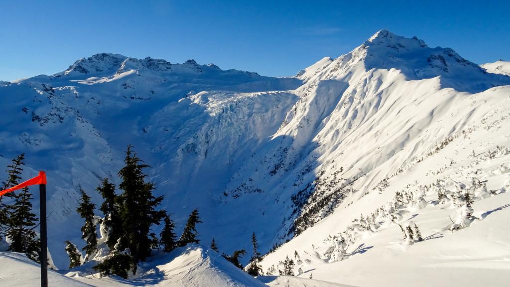 Good early season coverage on our glaciated terrain. Photo - Christian Neuhaus