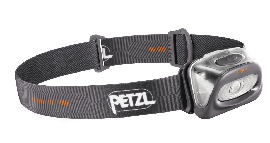 The Petzl Tikka. Small, reliable and bright. Photo - Petzl