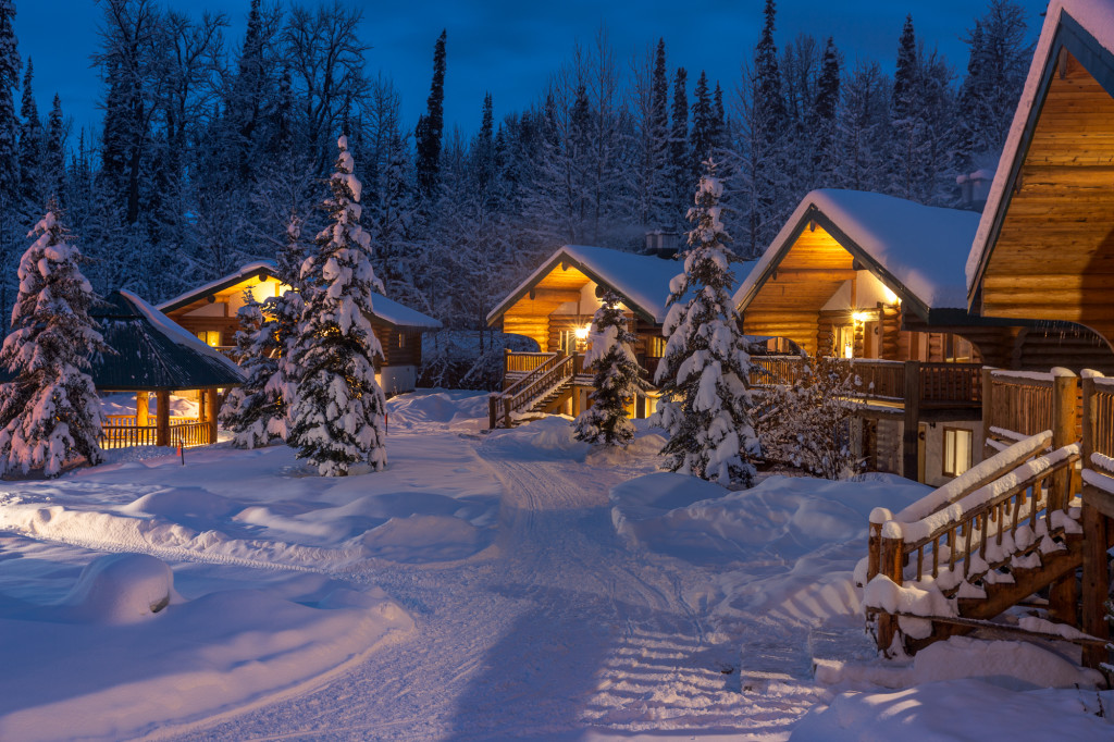 One of the coziest places to spend Christmas. Bell 2 Lodge.  Photo - Steve Rosset