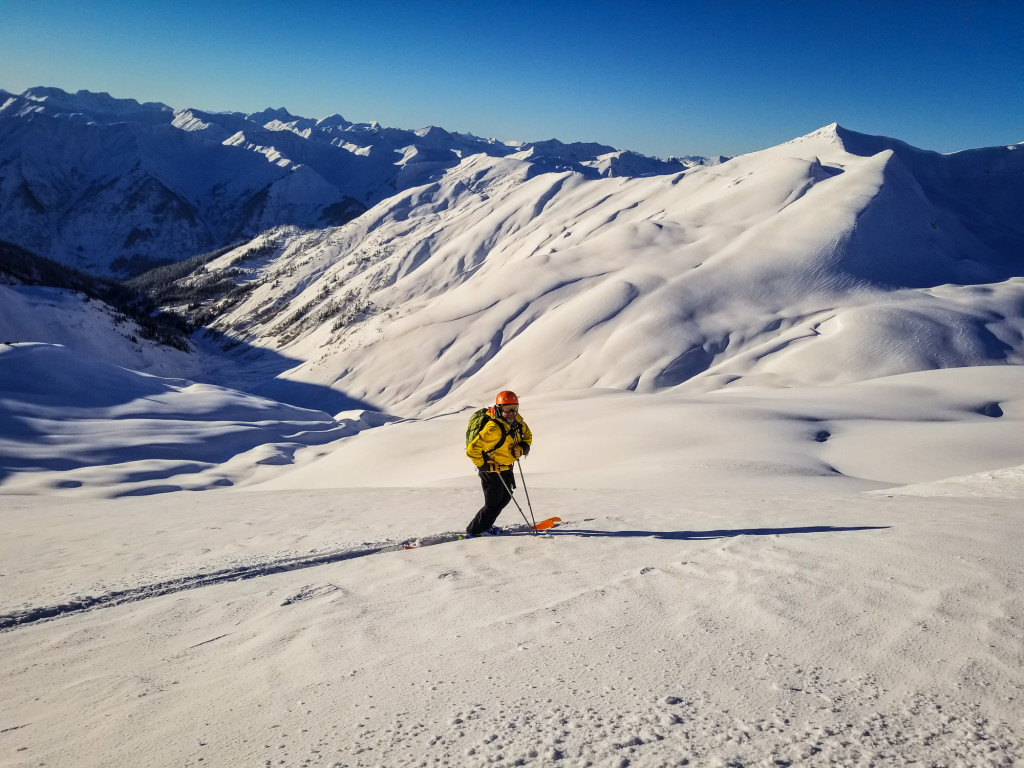 One of our guides contemplating some of the hard questions in life, like how many turns should I do? Photo - Ollie Higgs