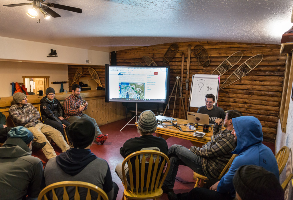 Lots of discussion, lots of planning.  Photo - Steve Rosset