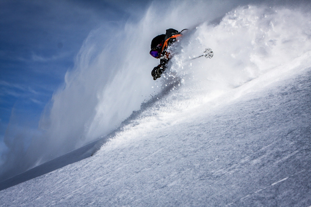 All that other stuff aside, this is why you've come heliskiing! Photo - Willi Kunz