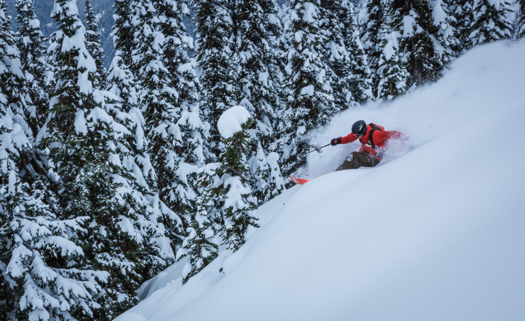 The skiing has been awesome.  Photo - Steve Rosset