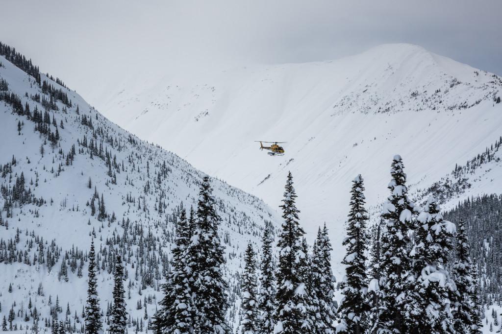 Inbound.  Photo - Steve Rosset