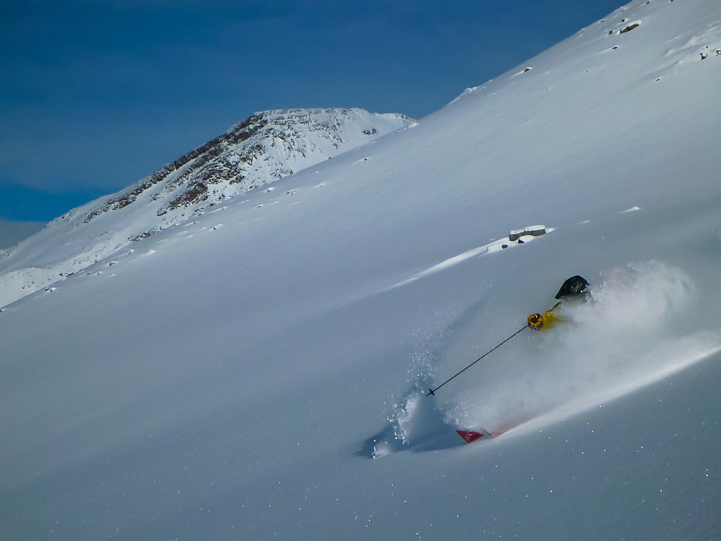 One of our guides getting pitted.  Photo - Guido Shnelzer