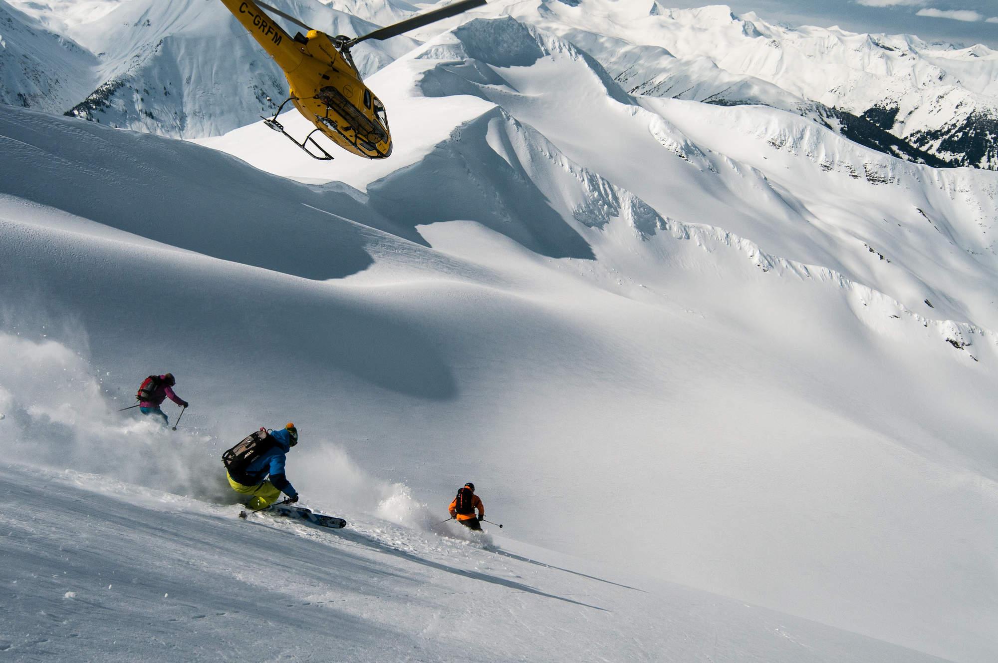 1 Heli Skiing Alpine
