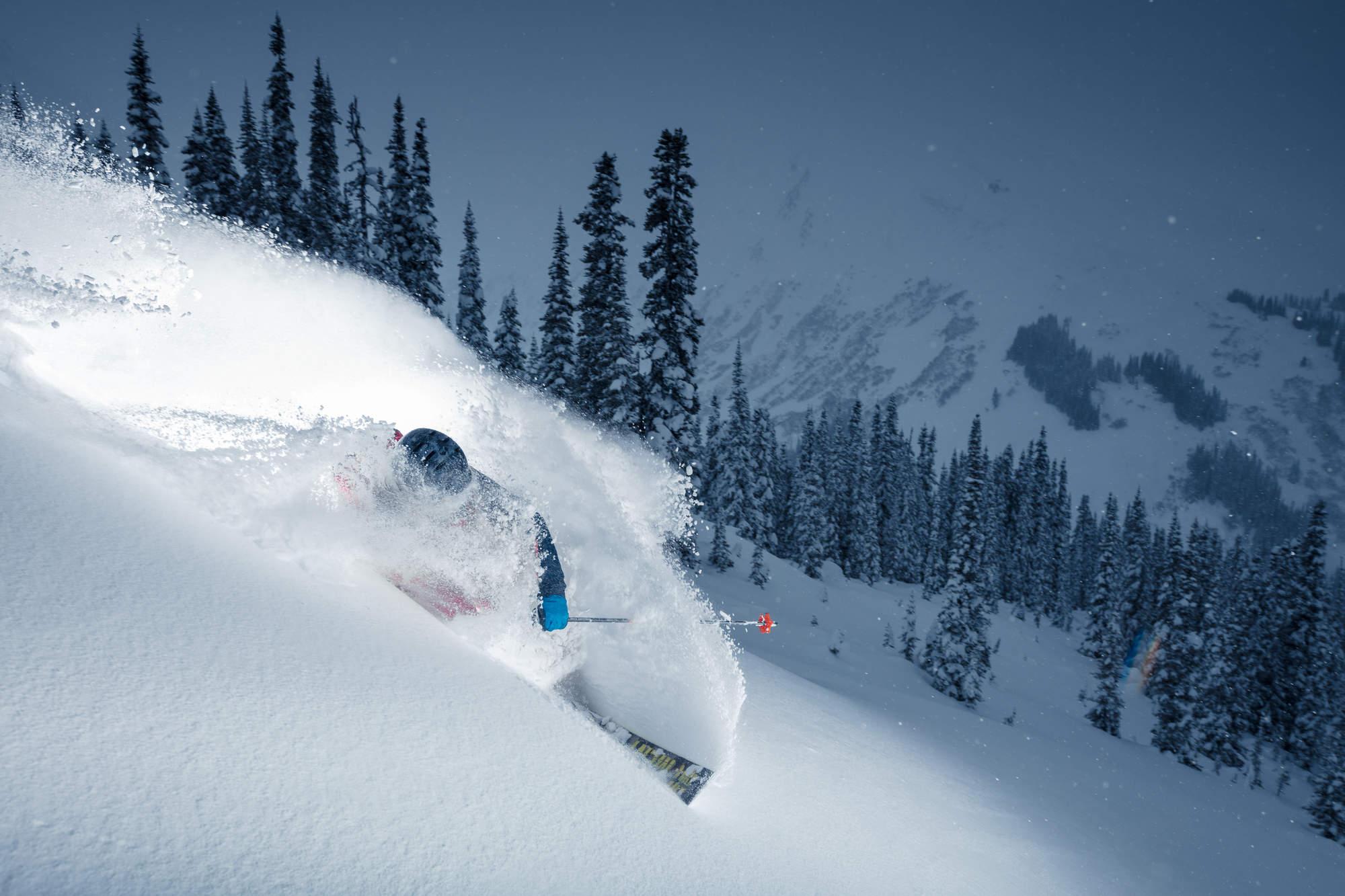 2 Deep Winter Heli Skiing BC