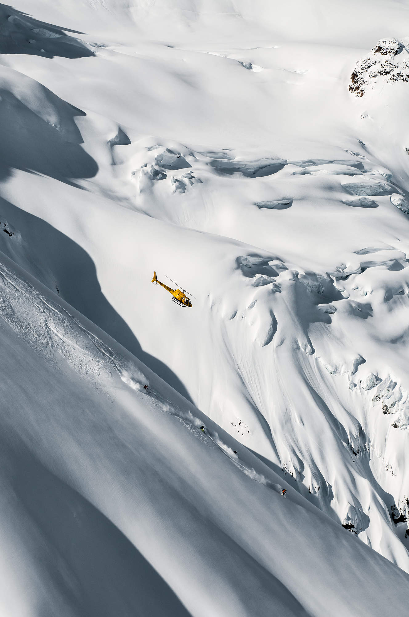 5 Heli Skiing Alpine