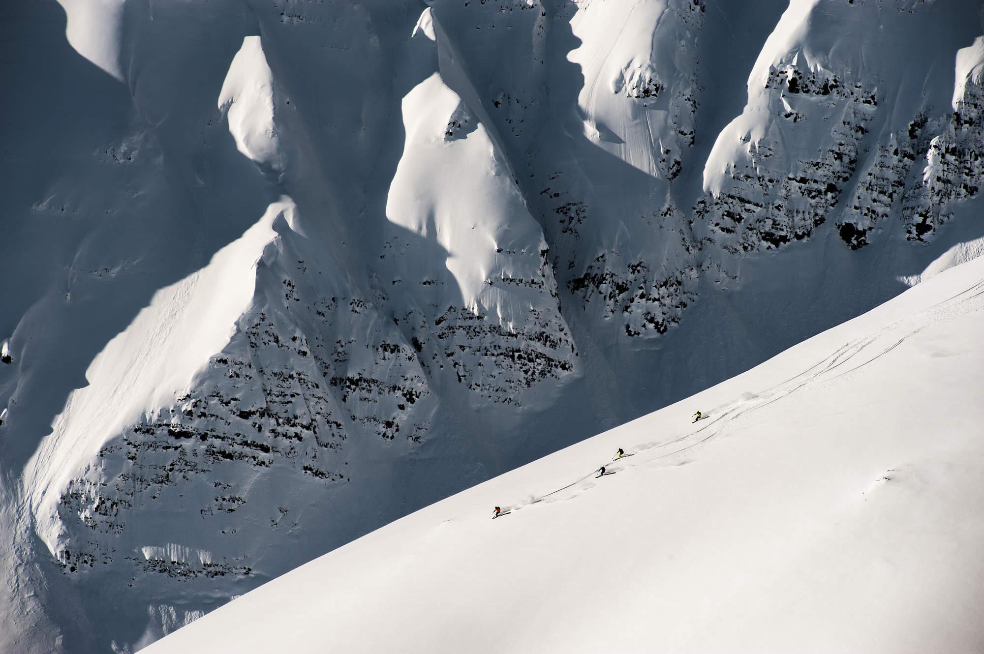 7 Heli Skiing Alpine