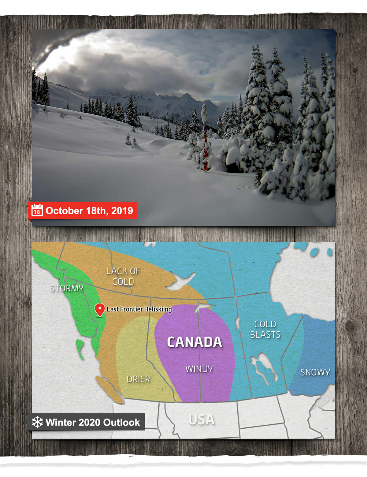 Winter 2020 heli skiing forecast