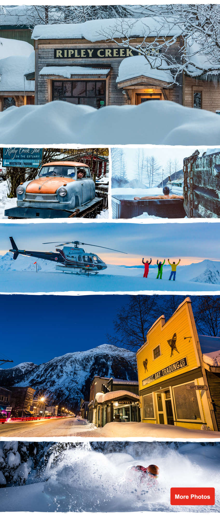 Ripley Creek Heli Skiing - Stewart BC Canada