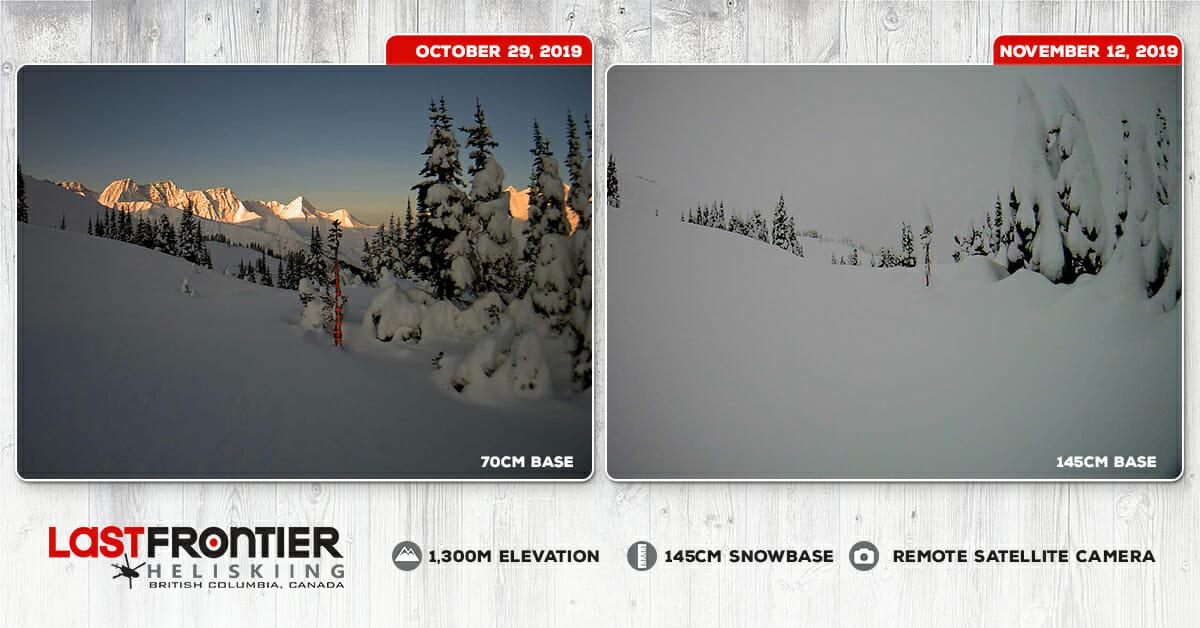 Deep Snowpack Last Frontier Heliskiing - November 2019