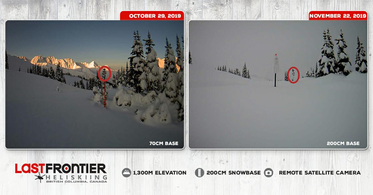 Record November Snow in Northern BC