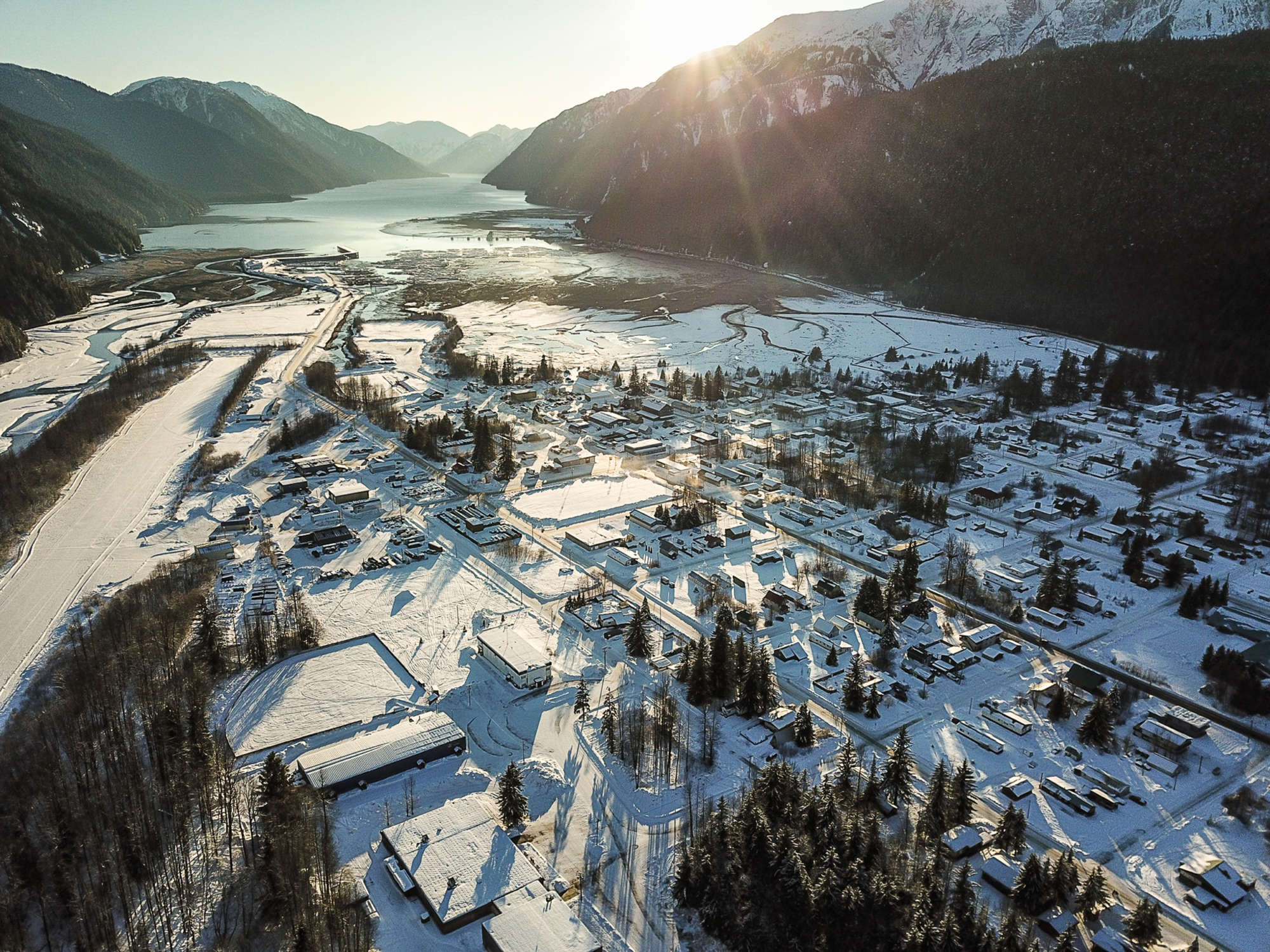The Town of Stewart BC - Home of Last Frontier Heliskiing's Ripley Creek Operation